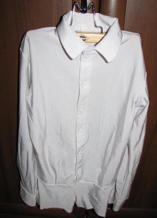 Рубашка белая для бальных танцев