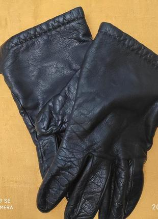 Кожанные мужские перчатки