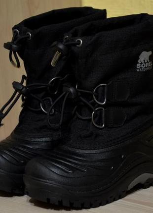 Очень тёплые зимние ботинки (распродажная цена)