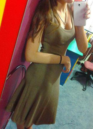 Платье в пол zara