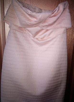 Платье mango с открытыми плечами