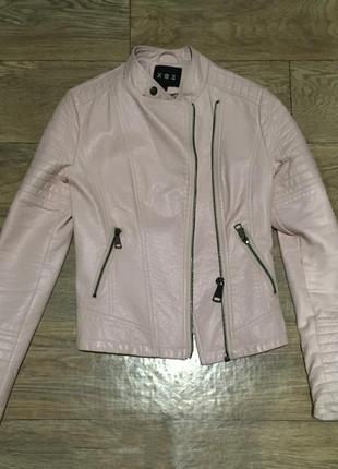 Новая куртка из экокожи. размер 36. киев