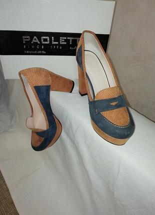 Туфлі замшеві