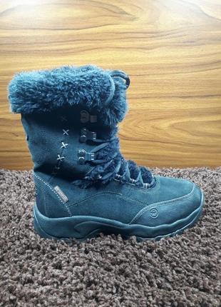 Женские зимние ботиники hi-tech зимові жіночі чоботи черевики