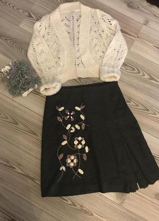 Комплект юбка и кофта