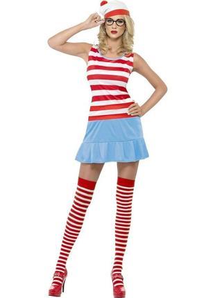 А где же уолли валли морячка м костюм карнавальный для девушки