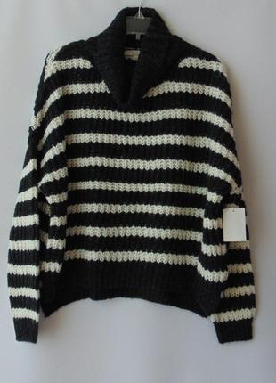 Удлиненный сзади свитер oversize от clockhouse с&a  хл