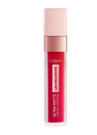 L'oreal paris les macarons ultra matte liquid lipstick