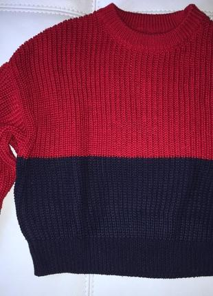 Pull&bear свитер crop