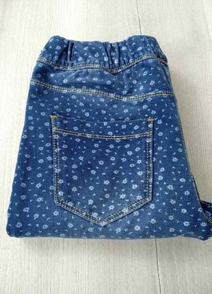 Красиві стрейчеві завужені джинси на дівчинку ovs kids