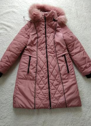 Зимняя куртка пуховик холофайбер