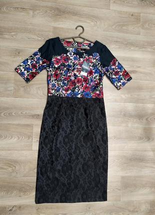 Новое нарядное платье next tall(для высоких) 12t