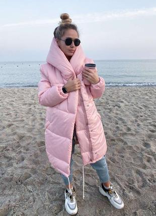 Зимняя курточка зефирка