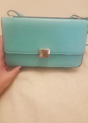 Прикольная сумочка мятного цвета