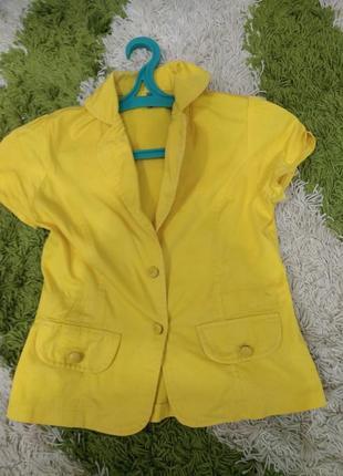 Пиджак летний коттон