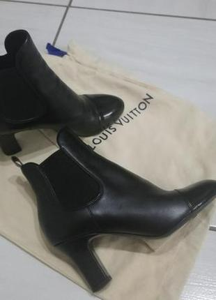 Ботинки ботильоны сапоги louis vuitton 100 оригинал