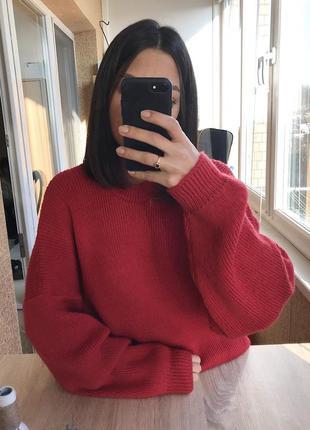 Шикарный шерстяной свитер оверсайз силуэта от st michael