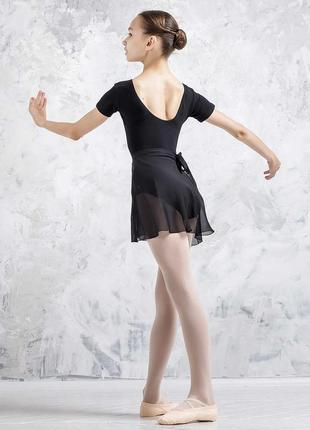 Хитон балетный шифоновая юбка на запах