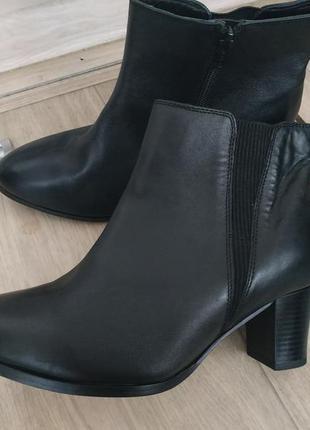 Кожаные ботинки (деми) р.40-41 кожа!1 фото