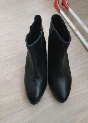Кожаные ботинки (деми) р.40-41 кожа!3 фото
