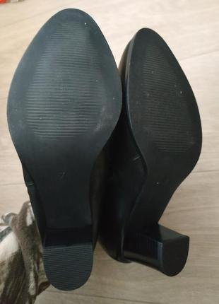 Кожаные ботинки (деми) р.40-41 кожа!5 фото