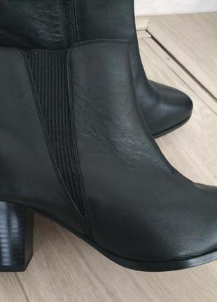 Кожаные ботинки (деми) р.40-41 кожа!6 фото