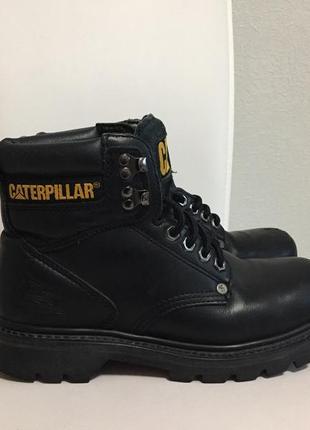 Caterpillar оригинал массивные ботинки натуральная кожа