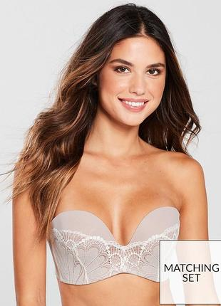 Бюстгальтер ultimate lace strapless bra из коллекции refined glamour wonderbra