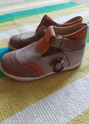Детские ботиночки испанского бренда  pet & ripaton, 24 размер