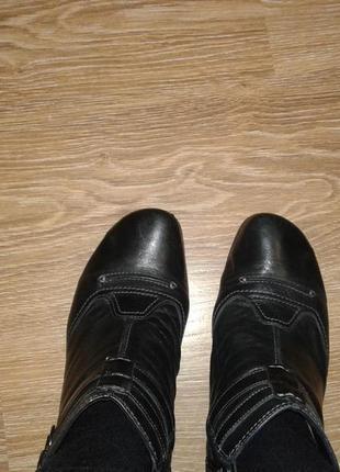 Ботинки кожа gabor португалия