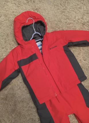 Зимний костюм columbia, комбинезон, куртка