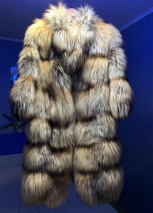 Шуба из арктической лисы
