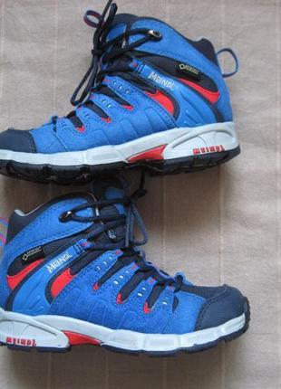 Meindl snap junior (28) треккинговые мембранные ботинки детские
