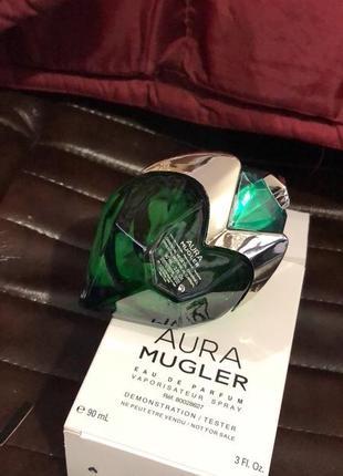 Парфюмированная вода thierry mugler aura mugler refillable eau de parfum (try), тестер