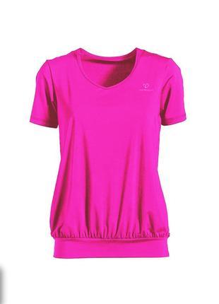 Спортивная легкая футболка caritesport р. l. идеальное состояние