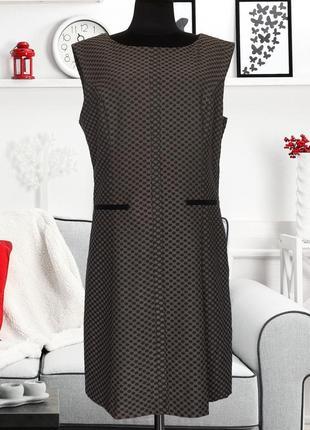 Платье деловое осень-зима next