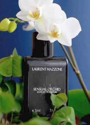 Laurent mazzone sensual orchid_original_extrait de parfum 5 мл затест