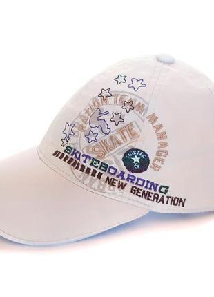 Хлопковая кепка бейсболка skiv 55-56 см