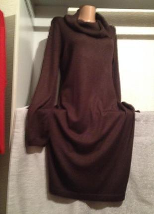 Теплое платье гольф.308