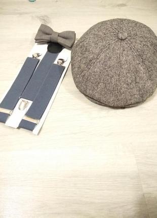 Классическая мужская кепка. утепленая мужская кепка.