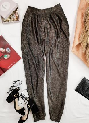 Легкие штаны с люрексом идеально дополнят вечерний образ   pn 19048057  nex