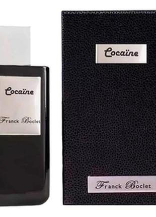 Нишевая парфюмерия  franck boclet cocaїne