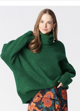 Зелёный свитер dilvin1 фото