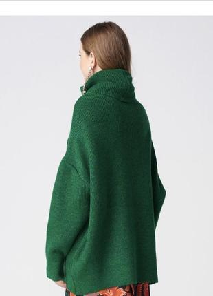Зелёный свитер dilvin3 фото