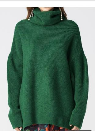 Зелёный свитер dilvin4 фото