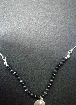 Колье цепочка подвеска украшение2 фото