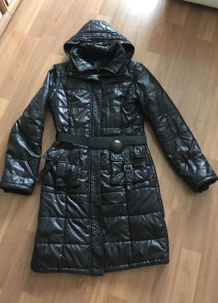 Пальто стёганное