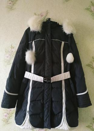 Тёплый пуховик. курточка snow beauty