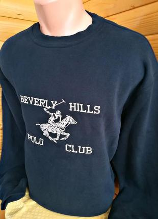 Стильная толстовка от американского премиум бренда beverly hills polo club, оригнал.