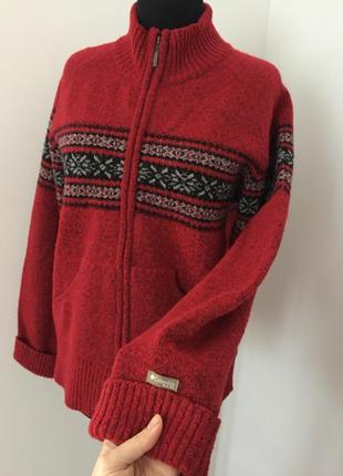 Очень тёплый свитер columbia